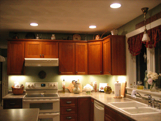 Kitchen lighting; recessed, undercabinet, pendant lights